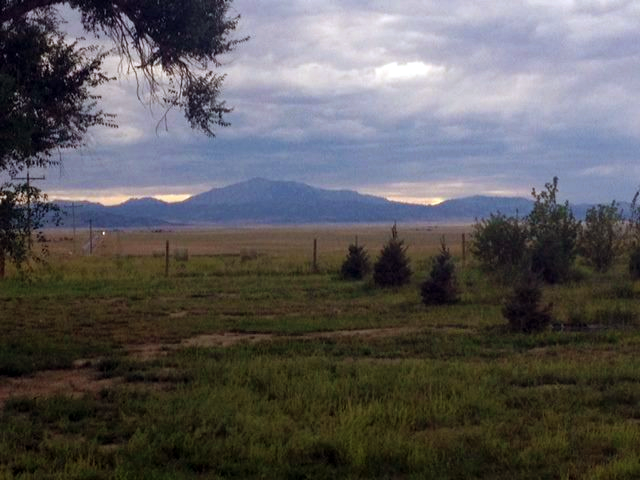 Laramie Peak from the Park